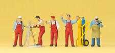 """Preiser 10243 H0 Figuren """"Handwerker, Zubehör"""" #NEU OVP#"""