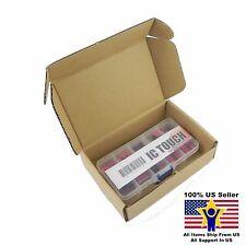 10value 35pcs 2.54mm 1-10 Bit Slide Type Red Switch Box Kit US Seller KITB0124