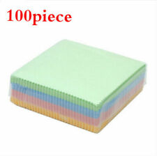 100 x Microfiber Cleaner Cleaning Cloth For Phone Screen Camera Lens Eye Glasses