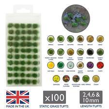 Wws 100 x Touffes autocollantes D'herbe Statique - Début du Printemps 2mm