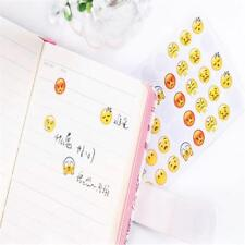 12Sheet Emoji Stickers Expression Emotion Planner Journal Android Smile Face SH