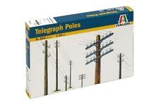ITALERI 404 - 1/35 TELEGRAFENMASTEN / TELEGRAPH POLES - NEU