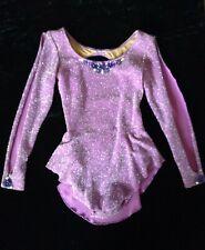 Free Style Skating Girls Practice Dress, Purple, Size S/M(8)