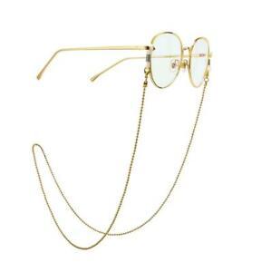 Eyeglass Chain Sunglasses Read Bead Glasses Chain Holder Eyewear Rope Necklace D