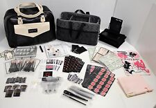 MARY KAY Consultant Organizer Tote Bag & Samples Caddy w/ Brushes