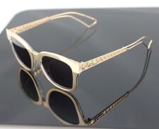 b4b60dc43ff NEW Genuine CHRISTIAN DIOR AMA 1 Gold Dark Purple Crystal Sunglasses SBH C6