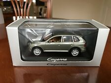 Rare Porsche Dealer Cayenne In Olive Green Metallic. Minichamps 1/43 Diecast