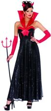 Black Sexy HOLLYWOOD DEVIL Womens Halloween Costume Adult Party Small (4-6)