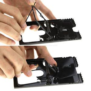 4x Rat Trap Catching Heavy Duty Snap Mouse Trap-Easy Set/Bait/Pest Catcher UK