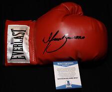 Marco Antonio Barrera laced signed boxing glove, WBO, WBC,IBF,Beckett BAS B87447