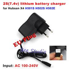 EU plug 7.4V Lipo Batterie  Balance Charger for Hubsan X4 H501S H502S H502E