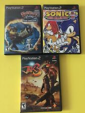 PS2 Lot: Sonic Mega Collection & Jak 3 & Ratchet Clank Going Commando