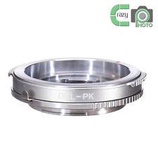 DKL-PK Brass Adapter for Voigtlander Retina Lens to Pentax PK Camera K5 K7 K110D