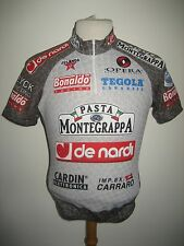 De Nardi Montegrappa SIGNED worn by WIELINGA jersey shirt cycling trikot size S