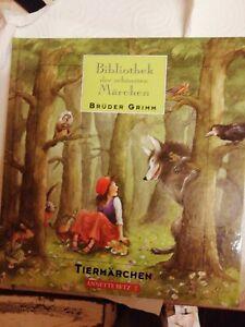 Bibliothek der schönsten Märchen  von Brüder Grimm Tiermärchen