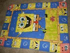 LN 42x58 Disney SPONGEBOB Squarepants Toddler Bed Comforter Blanket Quilt