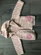 Baby Gap Girls 12-18 Months All season Euc Sweater Hoodie With Ears