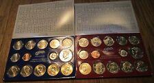 2007 U.S. Mint Set  P & D 28 coins Sacagawea dollar Kennedy State Quarters COA