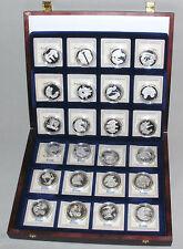 Präsidenten der USA,Göde,24 Medaillen,Silber,999 Silber,Feinsilber,Sammlung,Nr.3