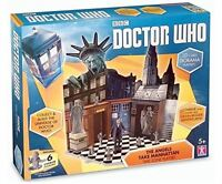 Doctor Who ANGELS TAKE MANHATTAN Time Zone Playset - with 6 CHERUB FIGURES