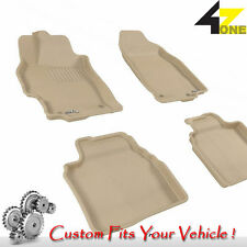 3D Fits 2009-2013 Mazda 6 G3AC77471 Tan Carpet Front and Rear Car Parts For Sale