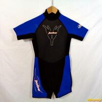 JOBE Powerstretch 2.0 mm Wetsuit S/S Shorty Wet Suit Youth Sz 10 Black neoprene