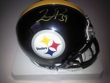 Pittsburgh Steelers Willie Parker Riddell Mini Helmet Autograph NFL AFC
