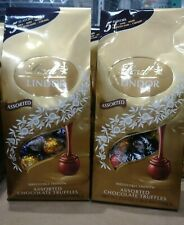 2X LINDT Lindor Assorted CHOCOLATE TRUFFLES 21.2 Oz 600g Each,  5 FLAVORS