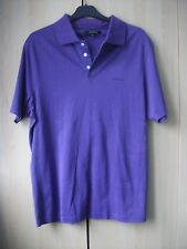 Men's Jaeger purple polo top size S in a VGC
