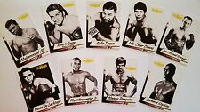 4LUVofBOXING 2017 Legends Series Boxing 9 Card Set Ali Tyson Pacquiao Duran Bhop