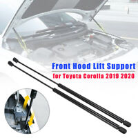 Front Hood Lift Shock Strut Support Arm Prop Rod for Toyota Corolla 2019 2020