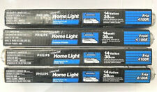 LOT OF 4 PHILIPS F14T12/CW F14T12 CW FLUORESCENT LAMPS 14WATTS