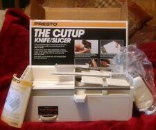 Vintage Presto CUTUP knife/slicer meat/food slicer 1982 Hong Kong Unused