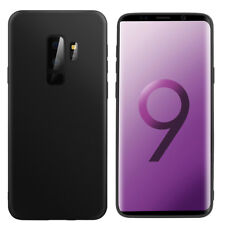 Samsung Galaxy S9/S9+ Case, Shockproof Matte Soft TPU Thin Slim Protective Cover
