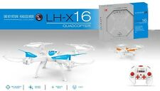 2018 LH-X16C GYRO 2.4G 6CH 6Axis w/ Camera Headless Mode One Key Return RC Drone