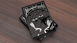 BRAND NEW CARDS - Masquerade: Black Box Edition Playing Cards by Denyse Klette