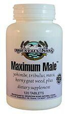 Maximum Male Formula with Horny Goat Weed, Yohimbe, Tribulus, and more.