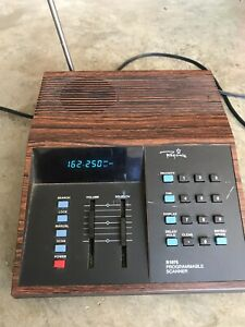 Regency R-1075 VHF/UHF/Weather-  Programmable Scanner- Tested- Free Shipping