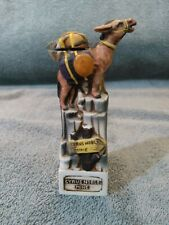 Ceramic Donkey 1975 Haas Brothers Cyrus Noble Mine Gold Miner's Souvenir
