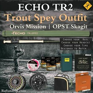 """Echo TR2 4wt 11'3"""" Trout Spey Complete Outfit $495 