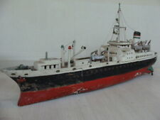Nave boat battleship carette wood