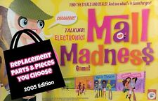 2005 Mall Madness Electronic Shopping Game Replacement Pieces Parts YOU CHOOSE