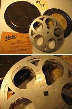 16 mm Antike Filmspule-Reichsstelle RfdU Dose 1930.Jahre-20/78-Antique film reel
