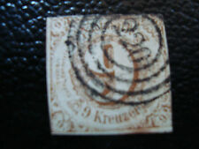 ALLEMAGNE (tour et taxis etat du sud) timbre yt n° 44 obl (A4) stamp germany (R)
