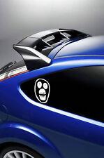 2X MIGHTY BOOSH FACE LOGO car stickers/decals  window