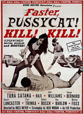 Faster Pussycat! Kill! Kill! Vintage Movie 11x17 Poster