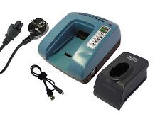 7.2-18V Chargeur pour MAKITA 6012HD, 6012HDL, 6012HDW, Vert, Garantie D'un An