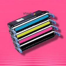 4 Non-OEM Alternative TONER for HP 645A C9730A-C9733A LASERJET 5500 5550