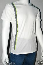 Armani Exchange T Shirt Mens White Crew Neck LARGE L NWT