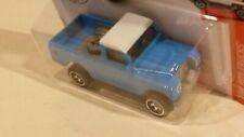 NEW Land Rover Series III Pickup Light Blue Hot Wheels 1/64
